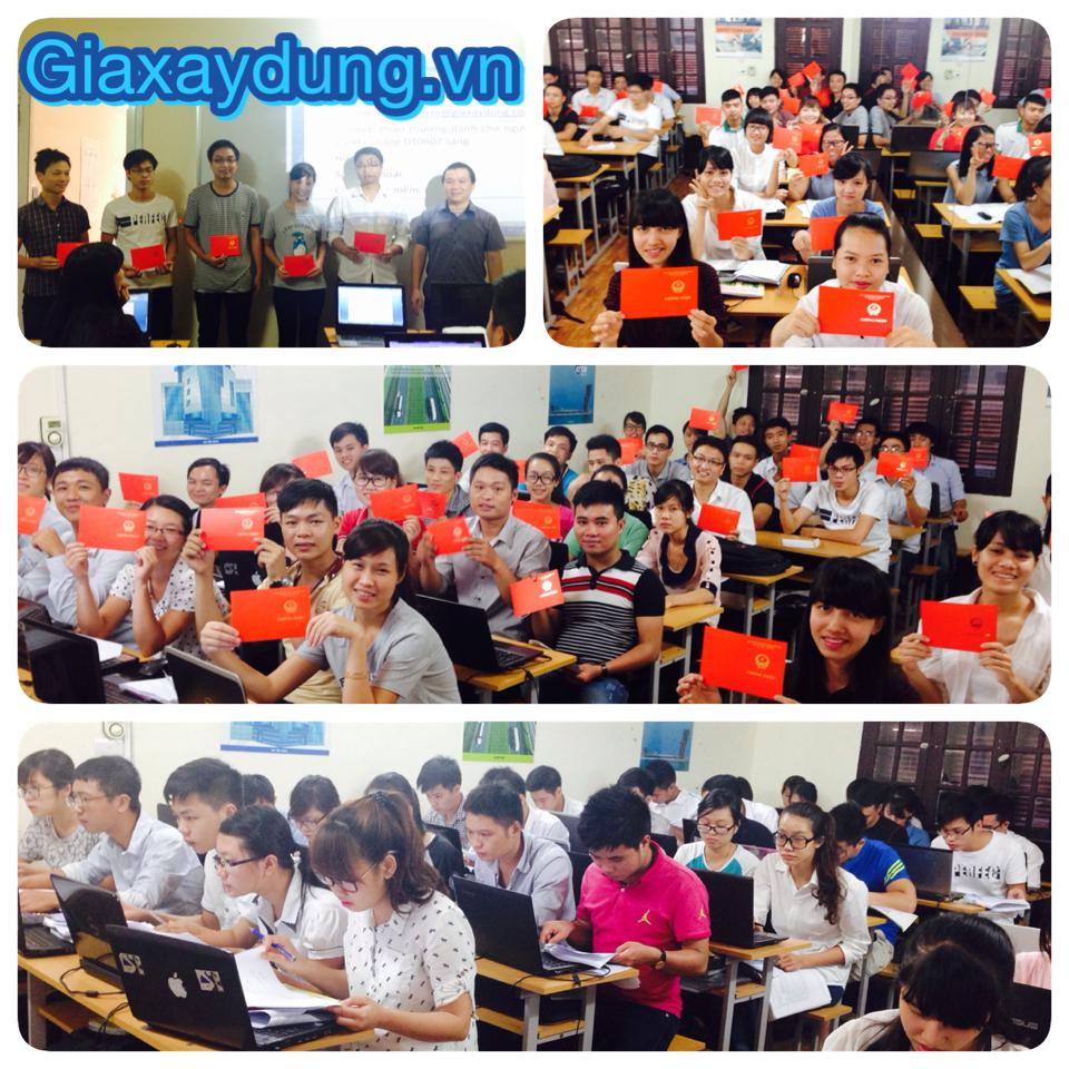 Khóa học Bóc khối lượng lập dự toán tại GXD