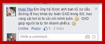 GXD giúp học viên tự tin rất nhanh