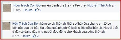 Em xin đánh giá thầy là pro thầy Nguyễn Thế Anh