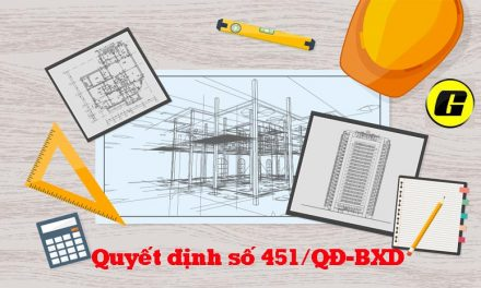 Học đo bóc khối lượng xây dựng phải biết quyết định số 451/QĐ-BXD