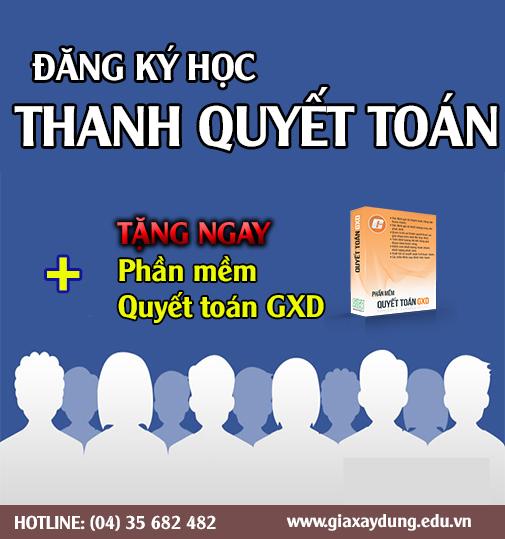 Lớp Thanh Quyết toán GXD