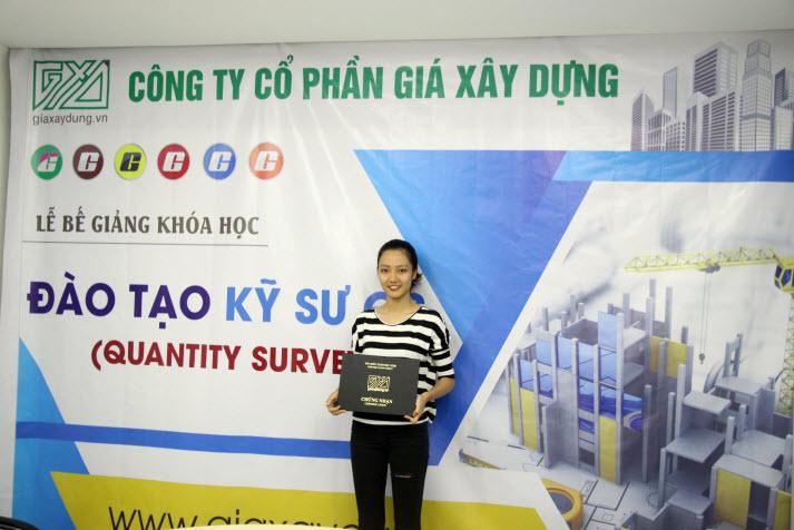 nữ kỹ sư QS xinh đẹp nhất Việt Nam
