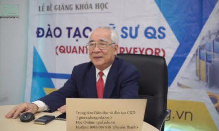 Giáo sư Lê Kiều nói về tính thực tế đáp ứng thị trường các khóa học tại GXD