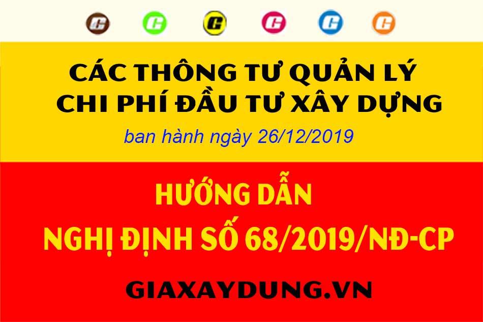 thông tư hướng dẫn Nghị định 68/2019/NĐ-CP