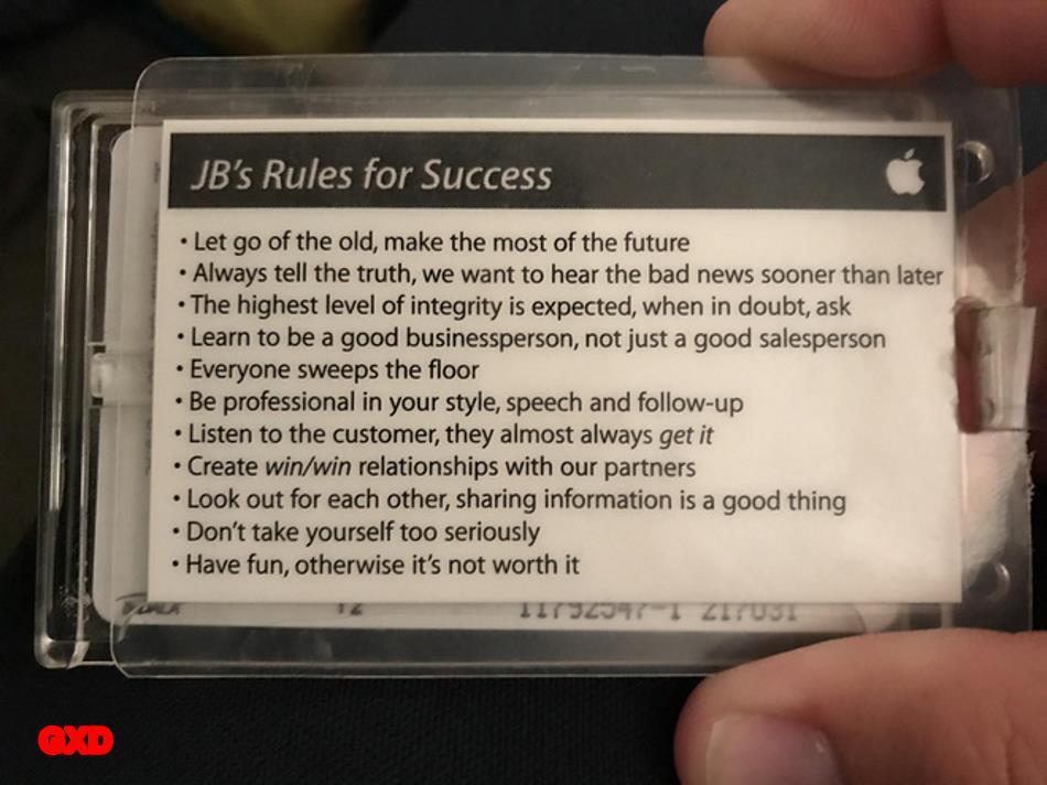 11 quy tắc thành công của một cựu nhân viên Apple kỹ sư nên học
